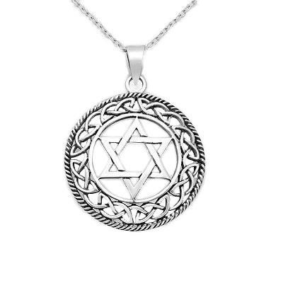 Large Star of David pendant